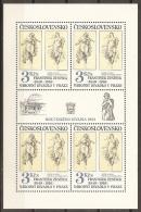 CHECOSLOVAQUIA 1983 - Yvert #2558 (Minipliego) - MNH ** - Hojas Bloque
