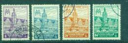 WEST-SACHSEN  162-165A   Leipziger Messe   Gestempelt  Oo    (377d) - Zona Soviética