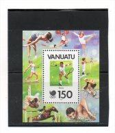 VANUATU     Timbre Sur  Feuillet  150   Année 1988   Y&T: 110   (neuf Sans Charnière)  Légère Tache Sur Gomme - Vanuatu (1980-...)