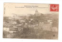 43 CHANTEUGES (environs De Langeac) Monument Historique Du 16ème S. / CPA Voyagée 1908/ Légère Pliure ++++ - Sonstige Gemeinden