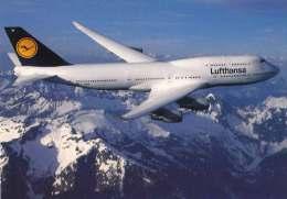 * * BOEING 747-400 * * LUFTHANSA  ( Carte Vierge ) - 1946-....: Moderne