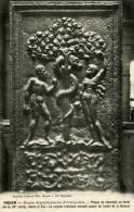 Rouen Musee Departemental D' Antiquites Plaque De Cheminee En Fonte Adam Et Eve Lazarus Edit Cliche Rigondet - Rouen