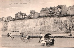 80 ONIVAL LES FALAISES ANIMEE CIRCULEE 1926 - Onival