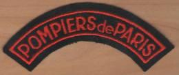 Ecusson Patch Pompier POMPIERS De PARIS Pour Collection - Firemen