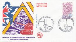 F.D.C. Ecole Des Sous Officiers De St Maixent (Oblit. SAINT MAIXENT L'ECOLE Du 16.5.1981)) - FDC