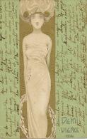 Kirchner Art Nouveau   Demi Vierge  ASW 927 - Kirchner, Raphael