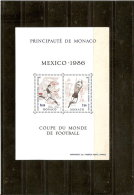 MONACO  BLOC N° 34    NEUF **  1986  EUROPA - Blocs
