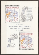 CHECOSLOVAQUIA 1977 - Yvert #H39 - MNH ** - Hojas Bloque