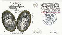 F.D.C. Costes Et Le Brix  (Oblit. BADEN & SEPTFONDS Du 12.9.1981) - FDC