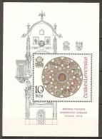 CHECOSLOVAQUIA 1978 - Yvert #H43 - MNH ** - Hojas Bloque