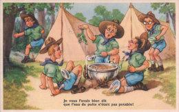 Scouts, Le Repas, Humour (536792) - Scoutisme