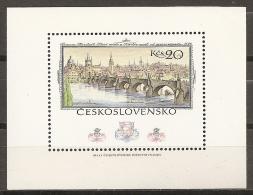 CHECOSLOVAQUIA 1978 - Yvert #H45 - MNH ** - Hojas Bloque
