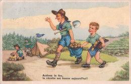 Scouts Et Le Feu, Humour (536794) - Scoutisme