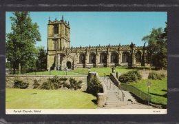 40386    Regno  Unito,   Galles  -  Parish  Church  -  Mold,    NV(scritta) - Flintshire