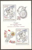 CHECOSLOVAQUIA 1981 - Yvert #H49 - MNH ** - Hojas Bloque