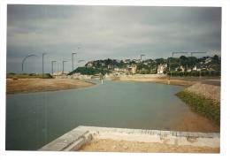Barneville-Carteret (50): Photo Projet CP GF Vue Générale De Carteret Pris Du Chenal En 1995 (animé) RARE. - Barneville