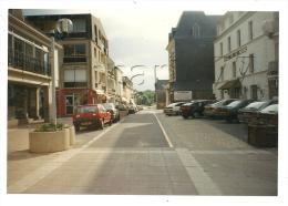 Barneville-Carteret (50): Photo Projet CP GF La Place De L'Hôtel De La Marine De Carteret En 1995 (animé) RARE. - Barneville