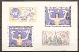 CHECOSLOVAQUIA 1982 - Yvert #H53 - MNH ** - Hojas Bloque