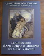 VATICANO 2013 - EMISSION 20 MAY 2013 4 CARDS NEW IN ELEGANT FOLDER - Vaticano