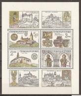 CHECOSLOVAQUIA 1982 - Yvert #H55 - MNH ** - Hojas Bloque