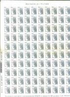 FRANCE / 100 Timbres Autocollants Ecopli / Sous Faciale - Adhésifs (autocollants)