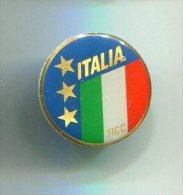 PINS BADGE SPORTS FOOTBAL  ITALIA FIGC / Fermeture épingle - Football