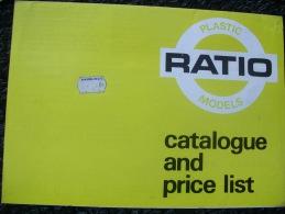 CATALOGO  RATIO MODELS - Gran Bretagna