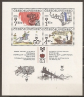 CHECOSLOVAQUIA 1983 - Yvert #H61 - MNH ** - Hojas Bloque