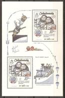 CHECOSLOVAQUIA 1983 - Yvert #H59 - MNH ** - Hojas Bloque