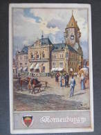 AK KORNEUBURG Platz 1915 // D*7902 - Korneuburg