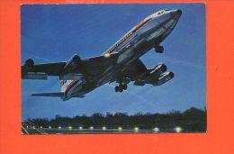 Avion - BOEING 707 B Intercontinental De La T.W.A. Année 1972 (écrite Et Voyagée) Editions P.I. N°169 - 1946-....: Ere Moderne