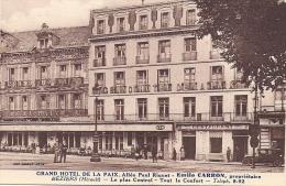 BEZIERS    GRAND HOTEL  DE LA PAIX - Beziers