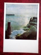 Vidzemes Seaside - Winter - Ice - Vidzeme - 1980 - Latvia USSR - Unused - Latvia