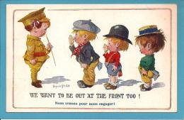 CARTE HUMOUR - ENFANTS  (signé Donald  Mac  Gill ) - Adolf 'Jodolfi'