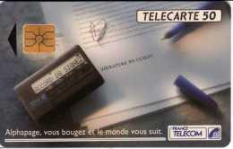 France : Alphapage, Vous Bougez Et Le Monde Vous Suit. 03.92 Tirage 2 000 000 - Téléphones