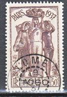 TOGO  EXPO 1937 N� 168 OBL TTB