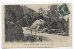 BALLON D´ALSACE -- PONT  DE LA CUVOTTE -FM-RECTO/VERSO   -E10 - France