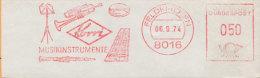 MUSIQUE - INSTRUMENTS - TROMPETTE - CLARINETTE / 1974 ALLEMAGNE EMA ILLUSTREE  (ref M44) - Musique
