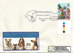 Adopt A Pet., Adoptez Un Chat Ou Chien ,Wausau, Wisconsin. Enveloppe Souvenir 2010, Adressée En Floride - Cani