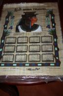 AUTHENTIQUE GRAND CALANDRIE 2004 PAPYRUS ÉGYPTIEN PAPYRUS EGYPTIEN NEFERTITIE 60/40 Cm EN TRÈS BONNE ÉTA - Arte Orientale