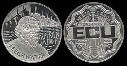 PAYS - BAS .  LEEGHWATER . 25 ECU . 1993 . - [ 8] Monnaies D'or Et D'argent