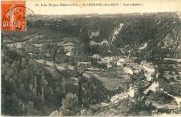 CP, 72, Les Alpes Mancelles - Saint-Léonard-des-Bois - Vue Générale, Voyagé En 1928 - France