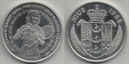 NIUE . 50 DOLLAR . 1988 . - Niue