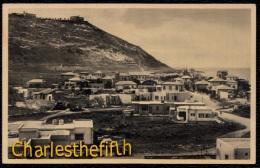 Palestine - Israel - Haifa - Mont Carmel Et Galim-les-Bains - Palestine