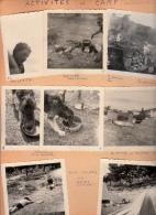 04 - 8 Photos - La Colle Saint Michel - Activités De Camp Scouts - Luoghi