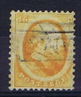 Netherlands 1864  NVPH Nr 6 B, Haarlem Print  Used , Cat Value 150 Euro - Periode 1852-1890 (Willem III)
