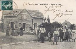 SAINT-GERMAIN BUREAU DE POSTE ANIMEE ATTELAGE 70 HAUTE-SAONE - Unclassified