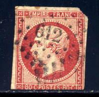 France  19  Used,        2010   Cv $82.50 - 1853-1860 Napoleon III