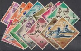 Guinee164-178 Gestempelt Sportmarken Ansehen !!!!!!!!!!!!!! - Sonstige