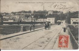 33. -  St-GERMAIN-en-LAYE -  LE PECQ.  - Perspective Du Pont Vers St-Germain - St. Germain En Laye